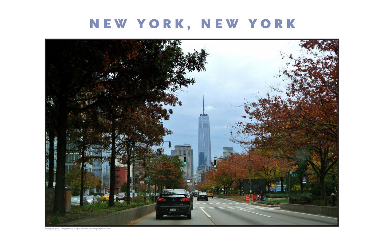 Freedom Tower in Distance, New York City Photo Art #866
