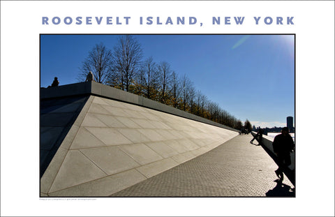 Roosevelt Island Four Freedoms Memorial Park New York City Photo Art #881