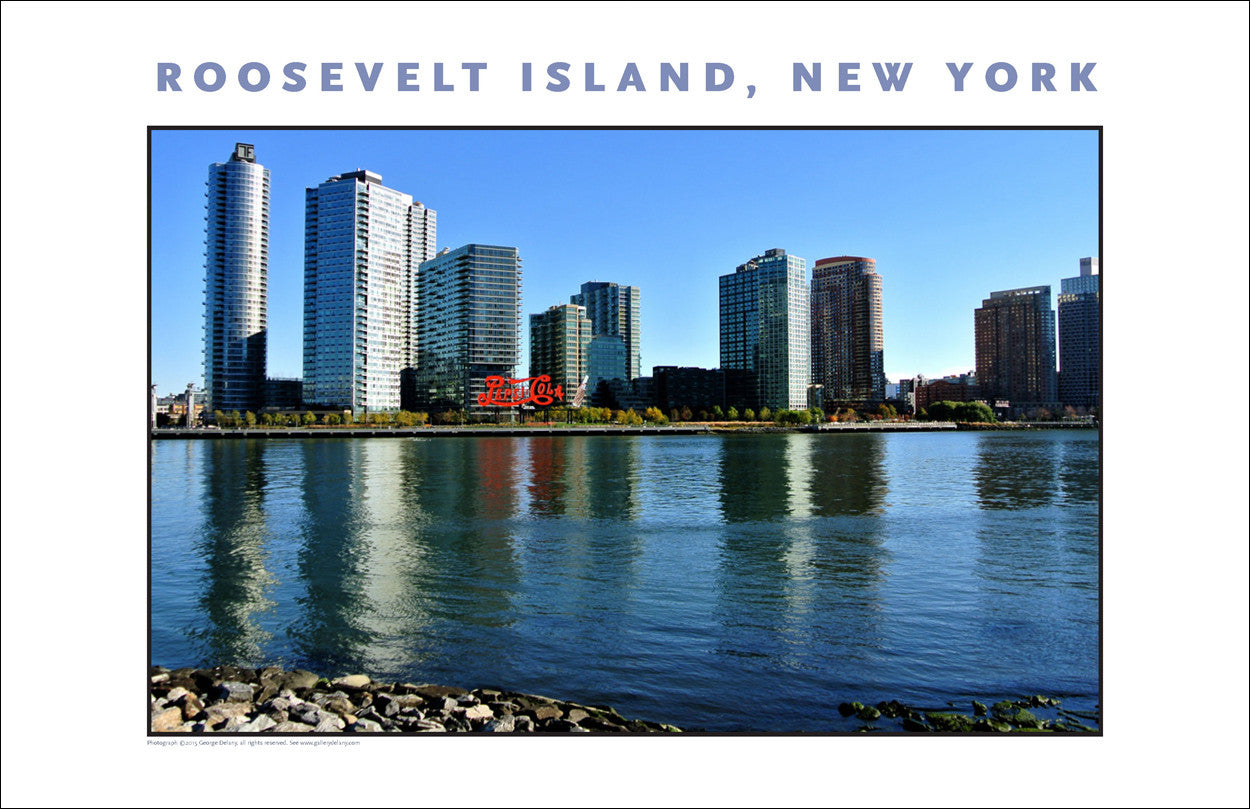 View of Long Island City From Four Freedoms Memorial Park New York City #885