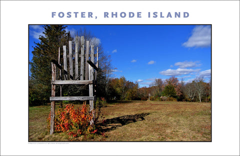 Foster, Rhode Island in Fall Photo Collection #899