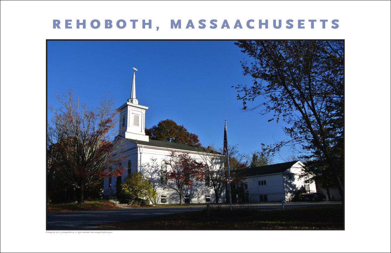 Wall Art: Congregational Church, Rehoboth, MA Photo Collection #903