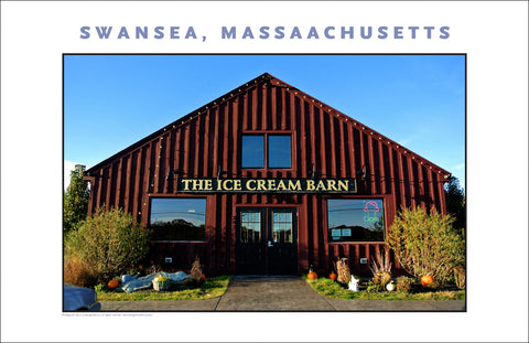 Photo Art: Ice Cream Barn, Swansea, MA Photo Collection #905