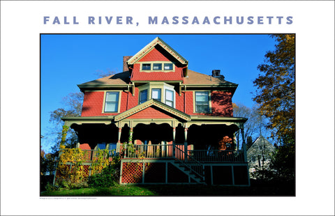Photo Art: Home in Historic Highlands, Fall River, MA Photo Collection #908