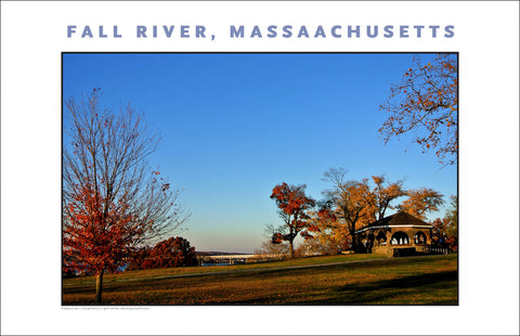 Wall Art, View from Kennedy Park, Fall River, MA Photo Collection #921