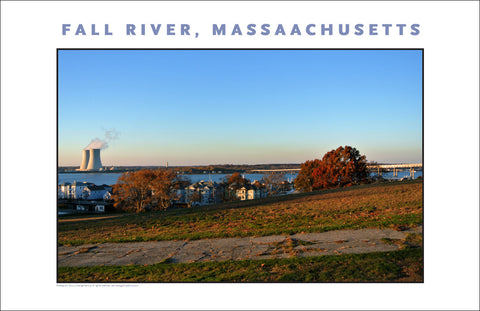 Wall Decor, View from Kennedy Park, Fall River, MA Photo Collection #922