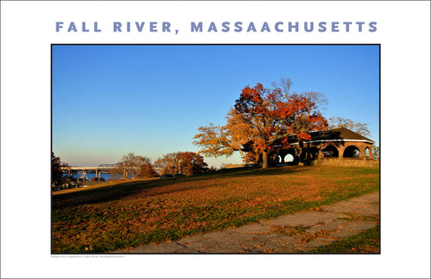 Wall Art, View from Kennedy Park, Fall River, MA Photo Collection #923