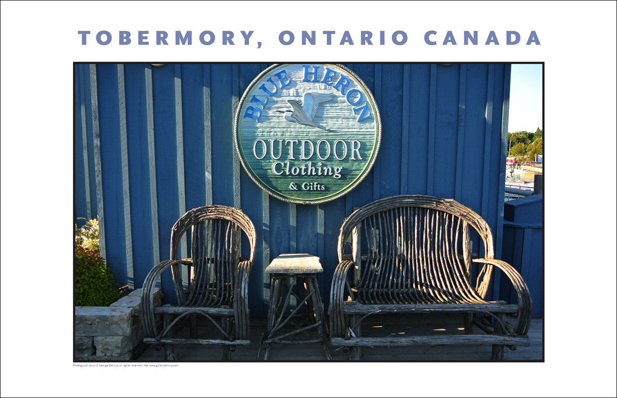 The Blue Heron in Tobermory, Ontario 935
