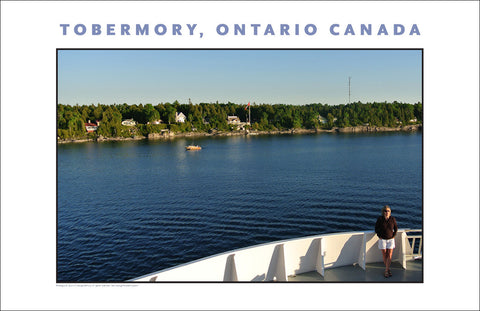 Who Is She & Where Is She Going? Departing Tobermory, Ontario 940