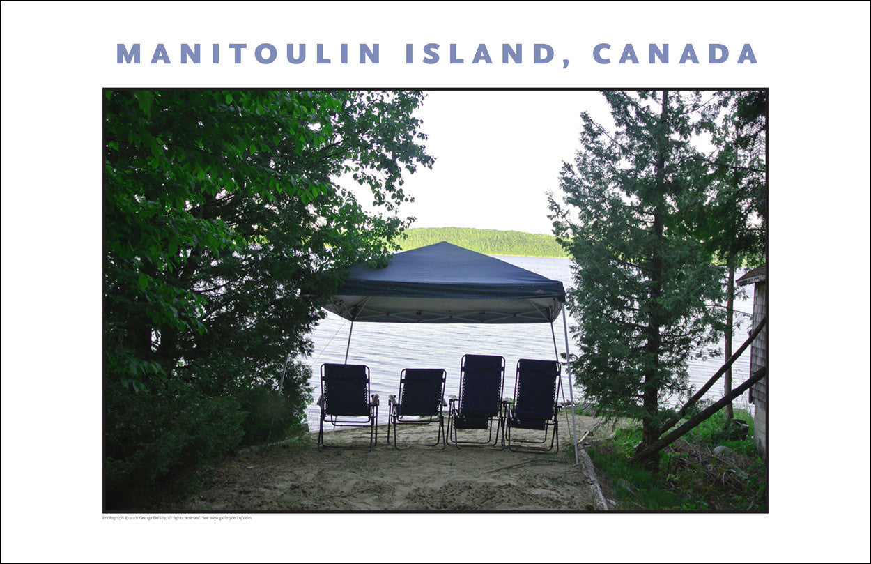 Big Beach Canopy Helpful on Manitoulin Island Ontario 949