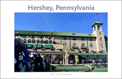Hotel Hershey 94 Digital Wall Art