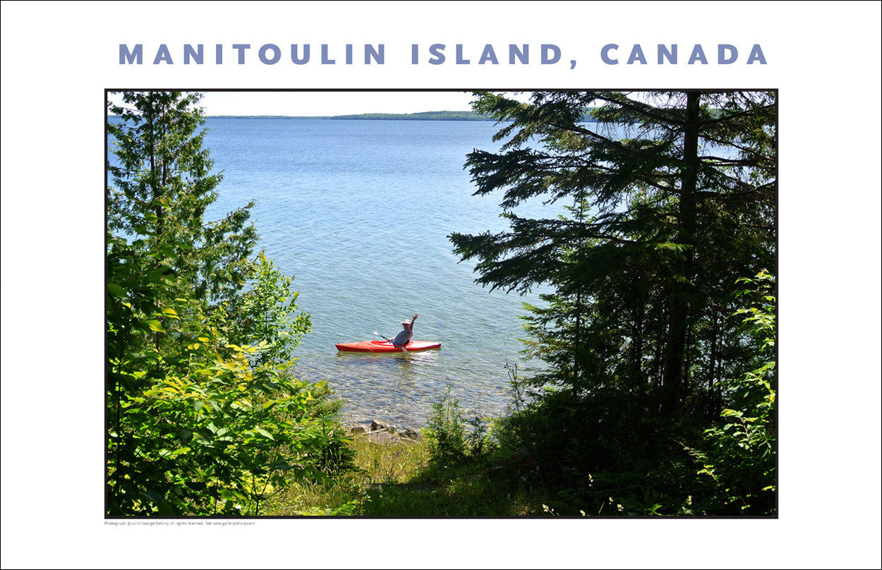 Summer Kayak Excursion on Manitoulin Island Ontario 952