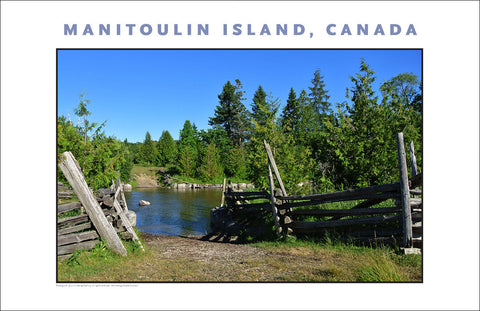 Walking the Manitou River on Manitoulin Island Ontario 954