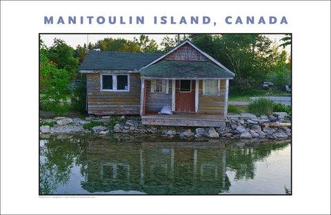 Campsite on Lake Manitou, Manitoulin Island Ontario 957