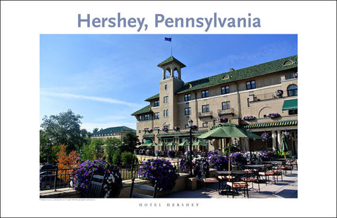 Hotel Hershey 95 Digital Wall Art