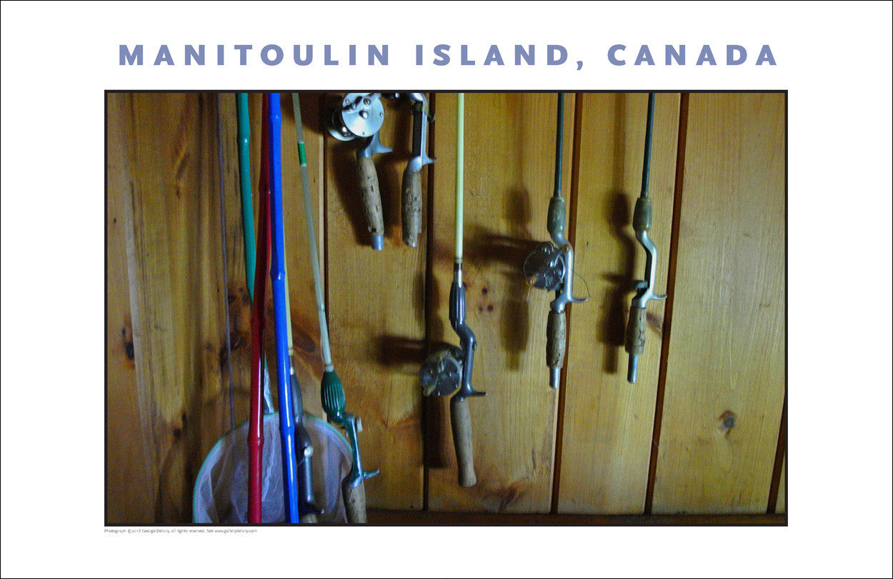 Ready to Go Fishing, Manitoulin Island Ontario Wall Art #964