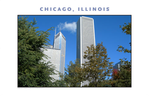 Uniquely Chicago on Fall Afternoon New Photo Wall Art #980