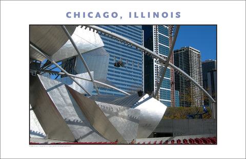 Look at Scale, Those Chairs! Here in Chicago New Photo Wall Art #983