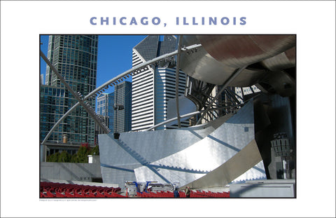 Art, Scale & Architecture Here in Chicago New Photo Wall Art #984