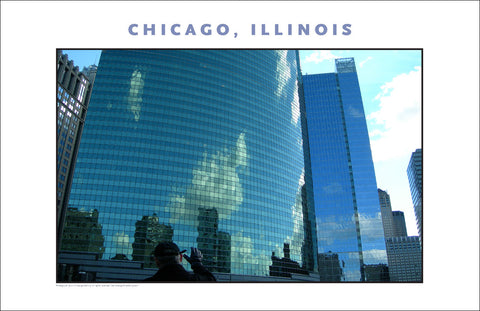Stirring Image of Great American City...Chicago Photo Wall Art #999