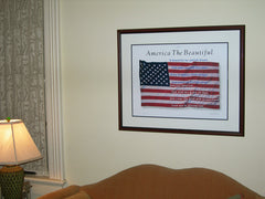 America the Beautiful USA Offset Printed Art #A113