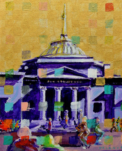 Acrylic #walldecor #535, Providence RI Old Stone Bank