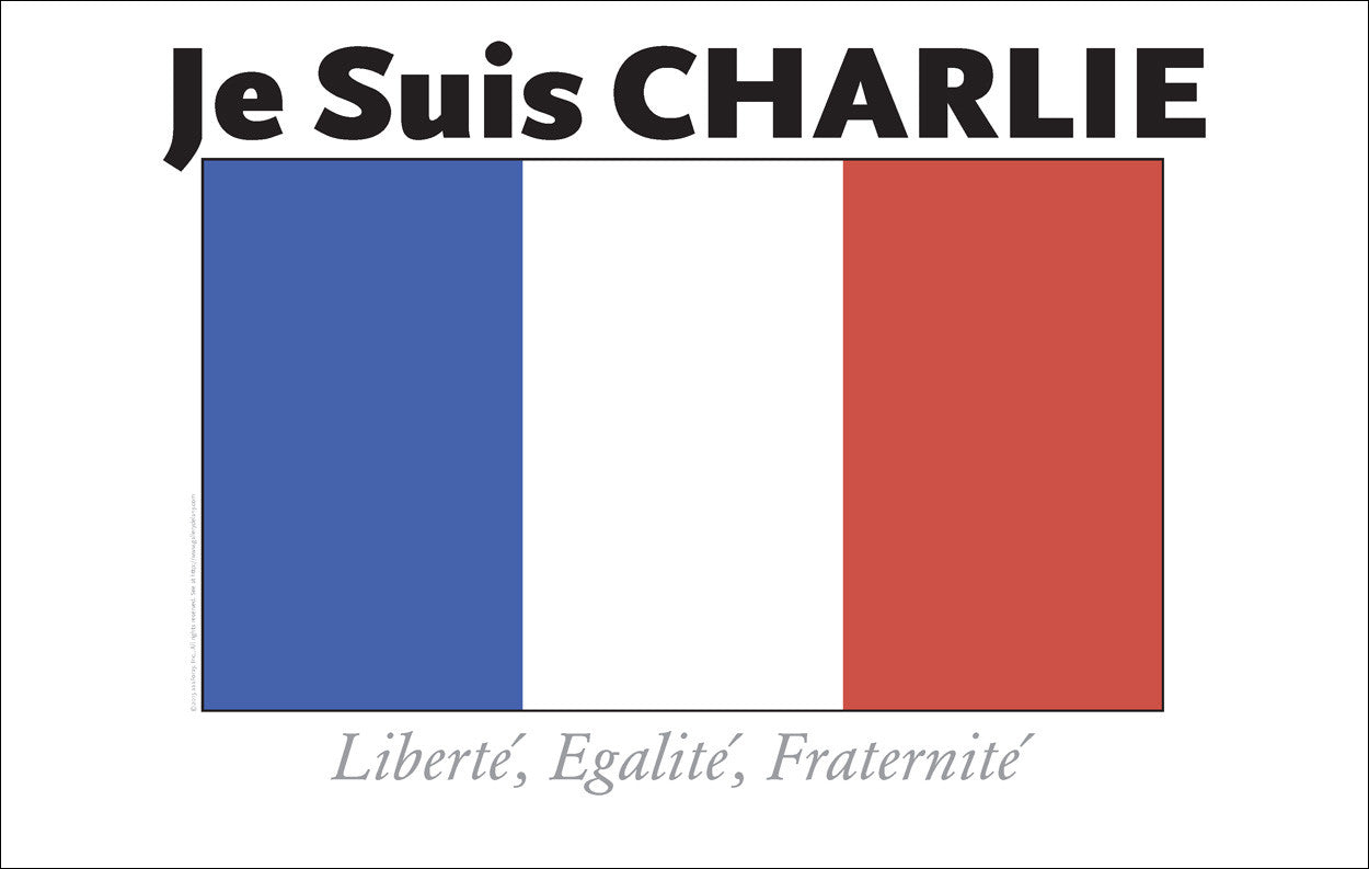 Je Suis Charlie...What is it we hold dear?