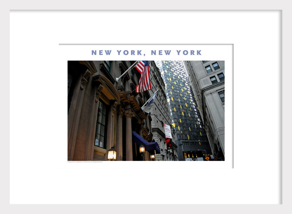 Financial District New York, Photo Poster Collection #388