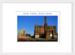 New York, Brooklyn Scene, East River,...Home Decor Poster #401