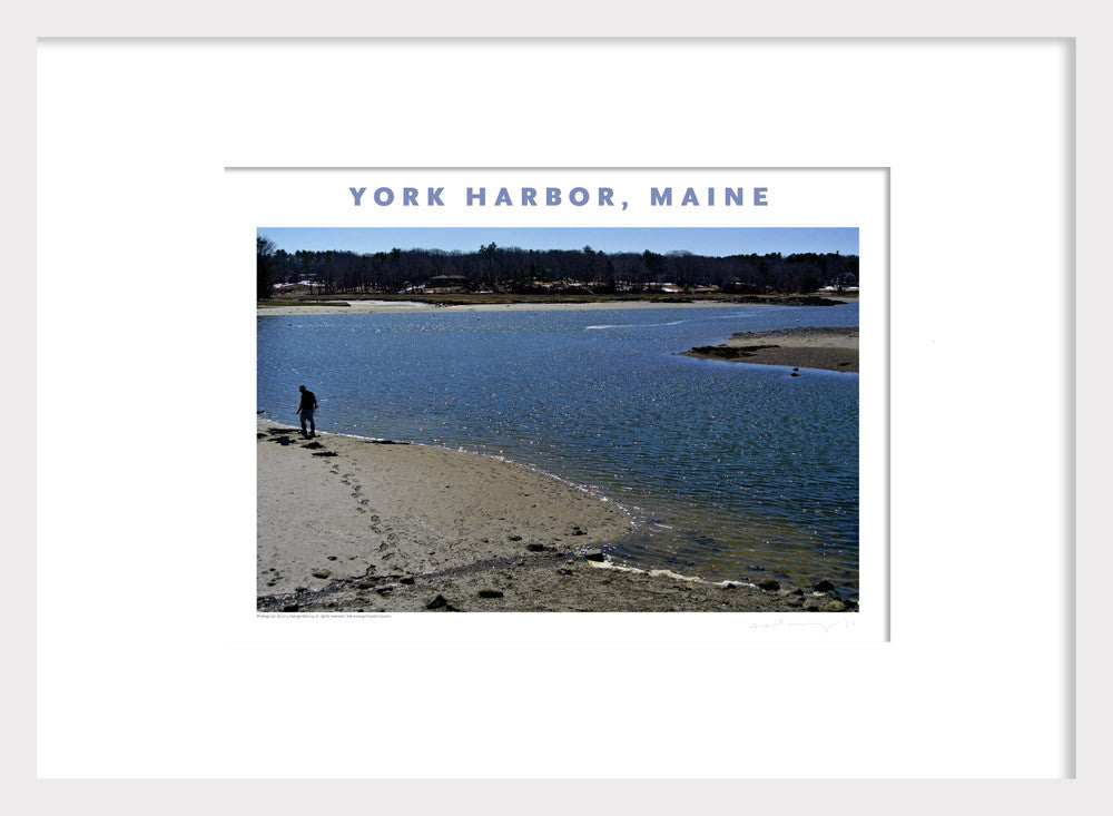 York Harbor, Maine, Photo Poster Wall Decor #426