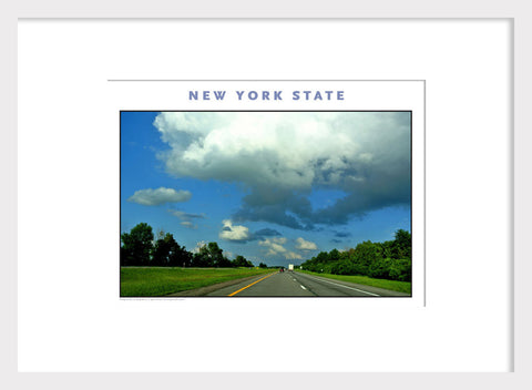 What a day! Upstate NY on Thruway, New York Photo Poster Collection #522