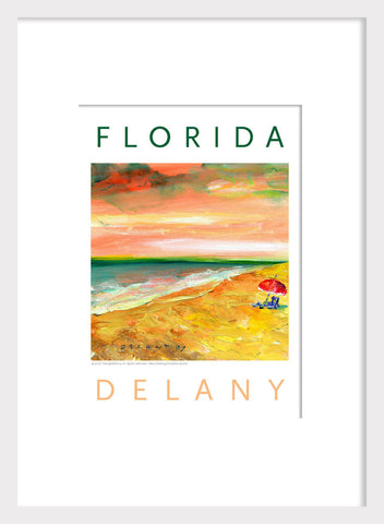 """Florida Beach Day1"" Acrylic Home Decor #506"