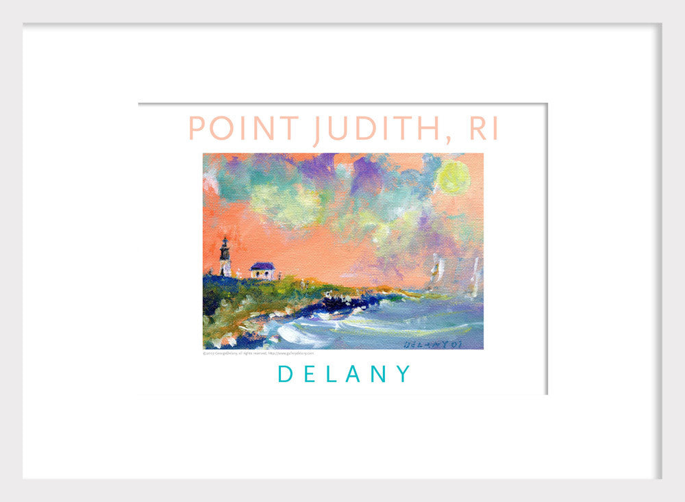 Point Judith Light House, Acrylic Wall Art #529