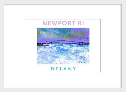 Acrylic Home Decor #537, Pell Bridge, Newport, RI