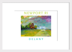 Beechwood Mansion, Newport, RI Acrylic Wall Art #541