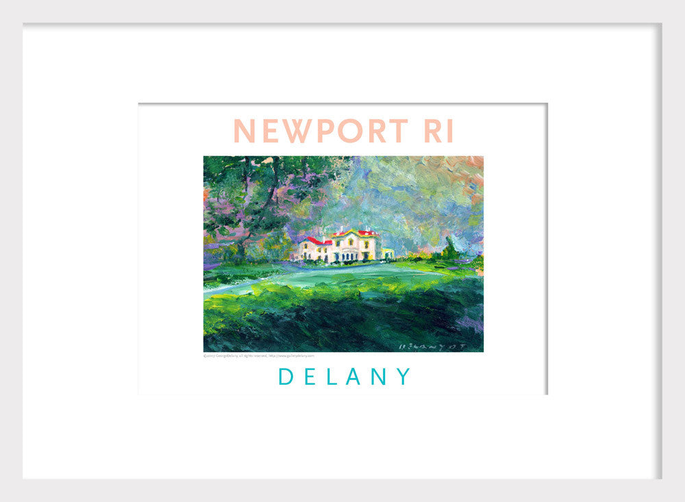 Beechwood Mansion, Newport, RI Acrylic Wall Art #543