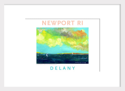 Off Shore I, Newport, RI Acrylic Wall Art #546