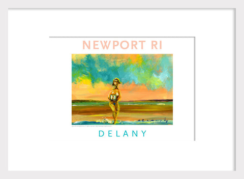 VP HR Takes Info Dip, Newport, RI Acrylic Wall Art #548