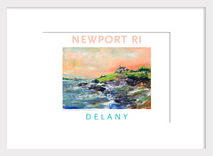Far Off, Inn at Castle Hill, Newport, RI Acrylic Wall Art #549