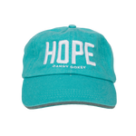 HOPE Teal Hat