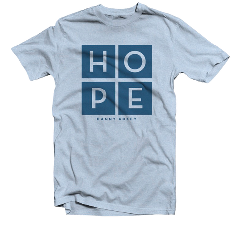 HOPE Light Blue Tee