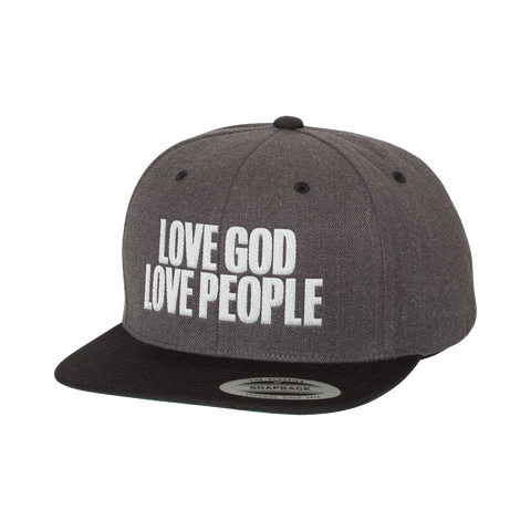 Love God Love People Snapback Hat