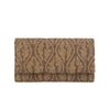 Bronze Pomello Clutch - clutch-it-india