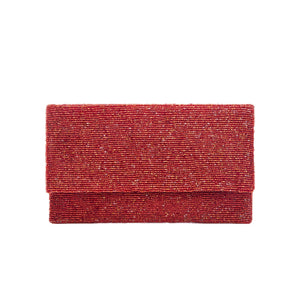 Dark Fuschia Solid Clutch - clutch-it-india