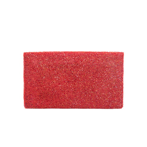 Red Solid Clutch - clutch-it-india