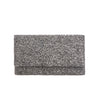 Black Solid Clutch - clutch-it-india