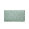 Ash Grey Solid Clutch - clutch-it-india