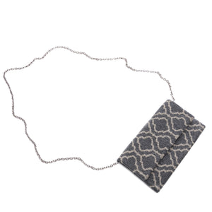 Black and Silver Amber Clutch - clutch-it-india