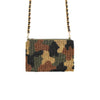 Dark Navy Camouflage Crossbody Bag