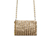 New Taupe Glam Crossbody Bag