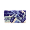 Blue Elm Leaf Clutch - clutch-it-india